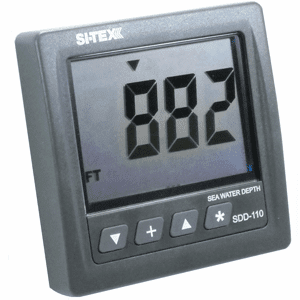 SI-TEX SDD-110 Seawater Depth Indicator - Display Only