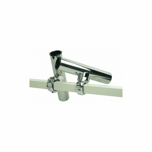 Smith Pontoon Square Rail Adjustable Clamp-On