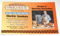 Smokehouse Smoker Recipe Book