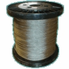 """Stainless Steel 3/64""""  7 x 7 Stranded Cable"""