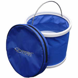 "Swobbit Collapsible Bucket 10"" Diameter"