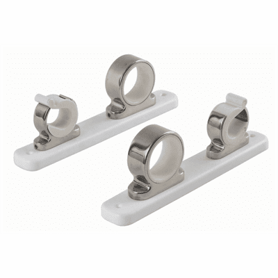 Taco Metals 2-Rod Hanger w/Poly Rack - Polished Stainless Steel