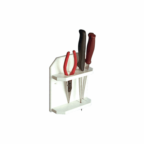Taco Metals Poly Knife & Plier Holder - White