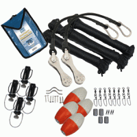 TACO Premium Double Rigging Kit for 2-Rigs on 2-Poles