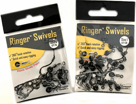 Turner Tackle Ringer Swivels #1 25 pack