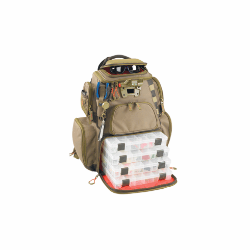 Wild River NOMAD - Lighted Backpack - Includes 4 PT3600 Trays