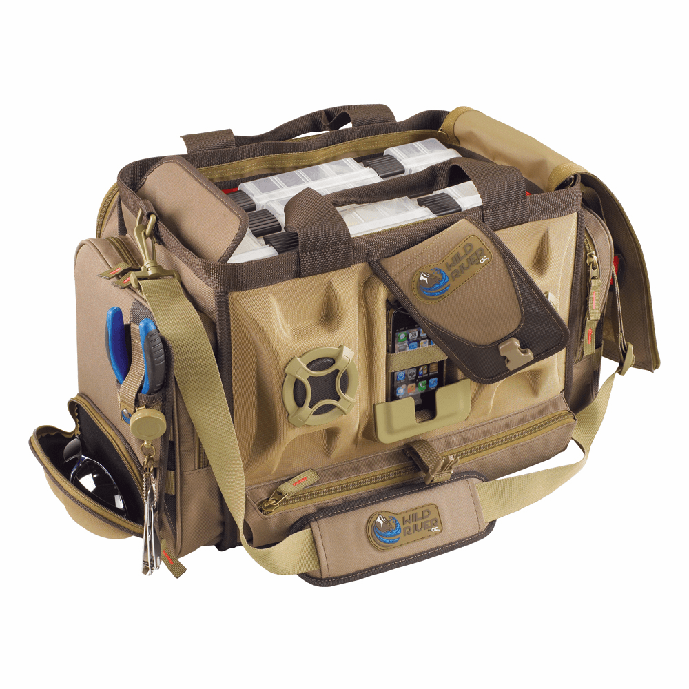 Wild River ROGUE Tackle Bag with Stereo Speakers with 4 PT3700 Trays