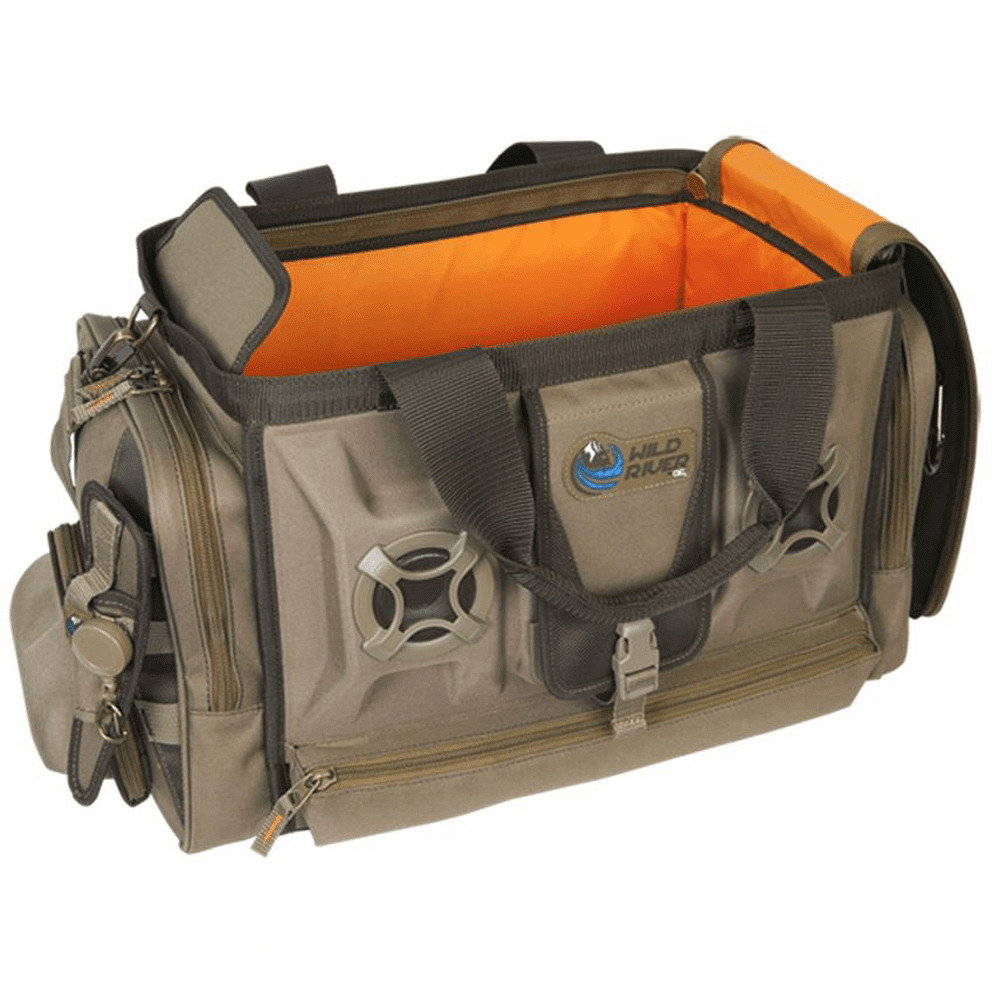 Wild River ROGUE Tackle Bag with Stereo Speakers without Trays