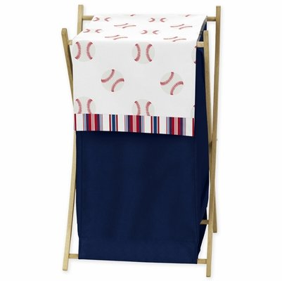 Baseball Patch Collection Hamper