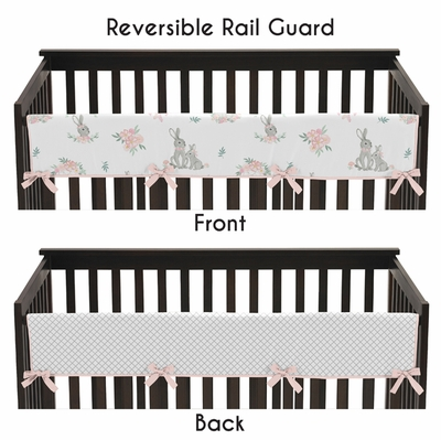 Bunny Floral Collection Long Rail Guard Cover
