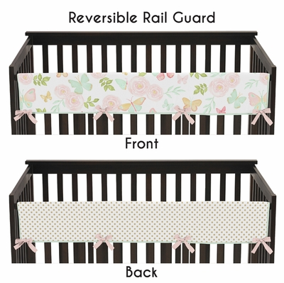 Butterfly Floral Collection Long Rail Guard Cover