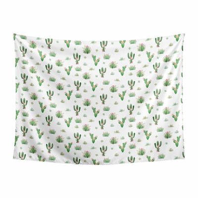 Cactus Floral Collection Wall Tapestry - 60in. x 80in.