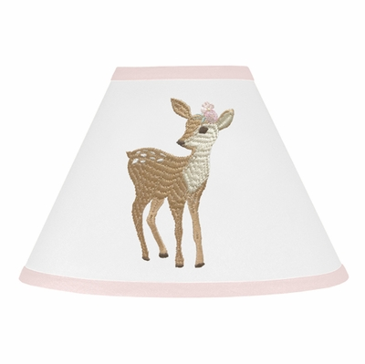 Deer Floral Collection Lamp Shade