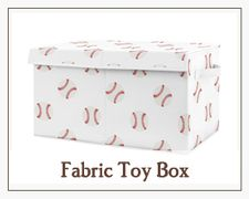 Fabric Toy Box