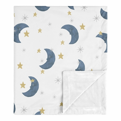 Moon Bear Collection Baby Blanket