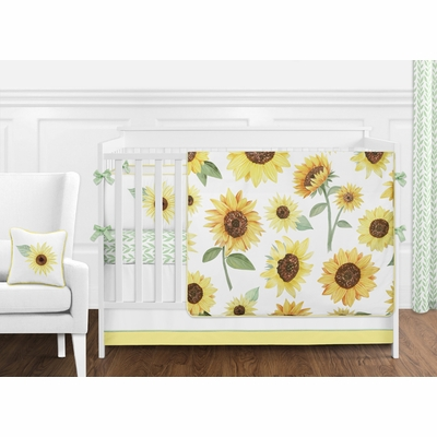 Sunflower Collection Crib Bedding