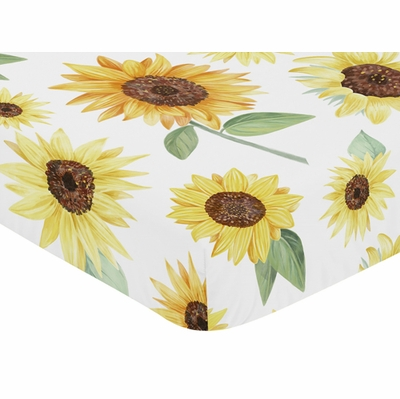 Sunflower Collection Crib Sheet