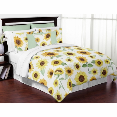 Sunflower Collection Full/Queen Bedding