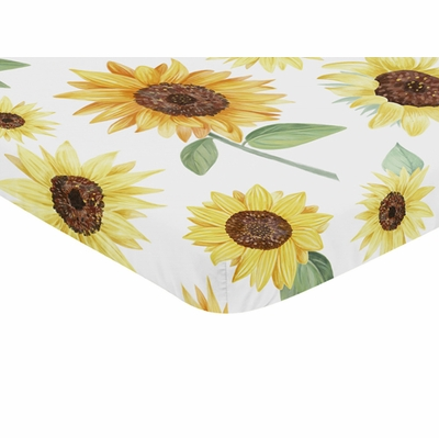 Sunflower Collection Mini Crib Sheet