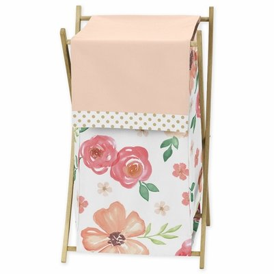 Watercolor Floral Peach and Green Collection Hamper