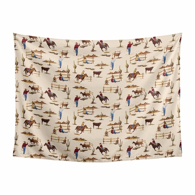 Wild West Collection Wall Tapestry - 60in. x 80in.