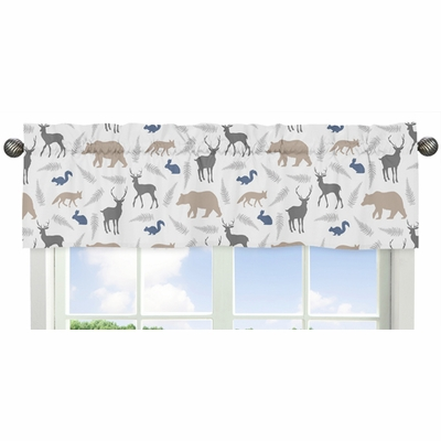 Woodland Animals Collection Window Valance