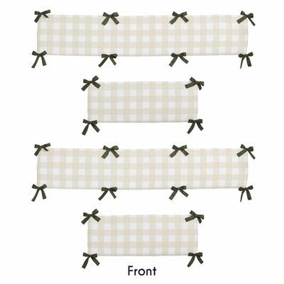 Woodland Camo Collection Crib Bumper Pad