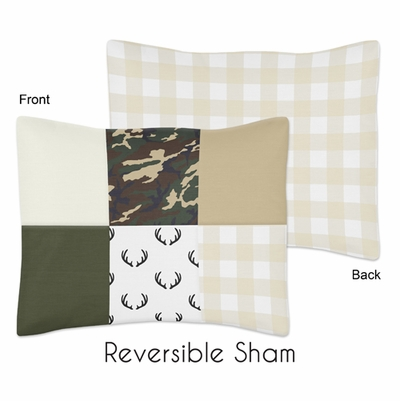 Woodland Camo Collection Pillow Sham