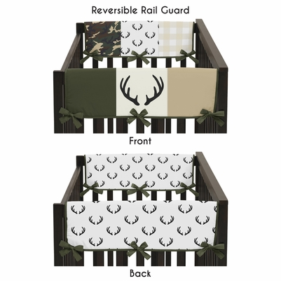 Woodland Camo Collection Side Rail Guard Covers - Set of 2