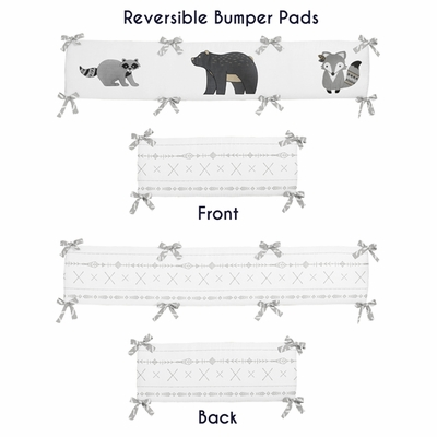 Woodland Friends Collection Crib Bumper Pad