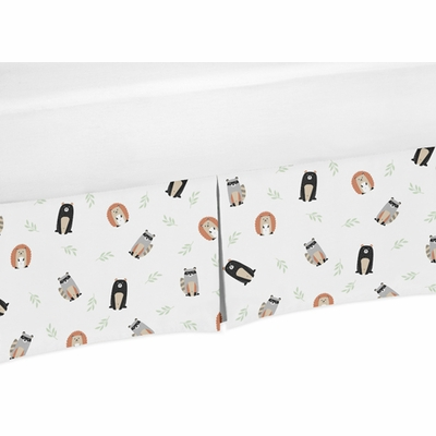 Woodland Pals Collection Crib Bed Skirt