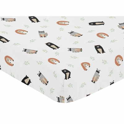 Woodland Pals Collection Crib Sheet