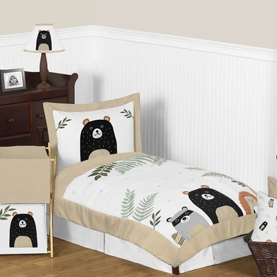 Woodland Pals Collection Toddler Bedding