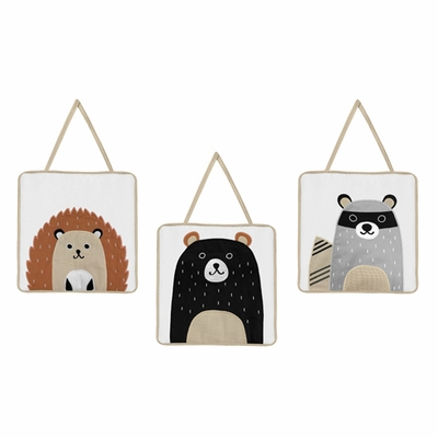 Woodland Pals Collection Wall Hangings