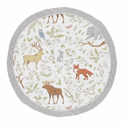 Woodland Toile Collection Playmat
