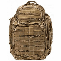 5.11 Tactical RUSH72 Military Multicam Backpack, Molle Bag Rucksack Pack, 55 Liter Large, Style 58602