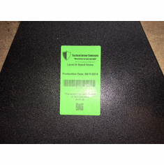 "AR500 Level III Contour Curve 10"" x 12"" Stand Alone Plate (1)"