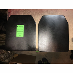 "AR500 Level III Contour Curve 8"" x 10"" Stand Alone Plates (2)"