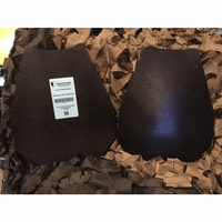 AR500 Level III Tactical Cut Double Curved Stand Alone Plates