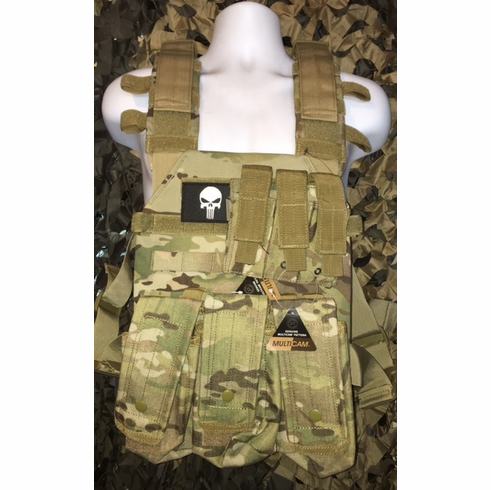 "Condor Sentry Multicam With Molle and (2) 10 x 12"" Certified AR500 NIJ Compliant Plates"