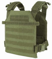 "Condor Sentry OD Plate Carrier With (2) 10 x 12"" Certified AR500 NIJ Compliant Plates"