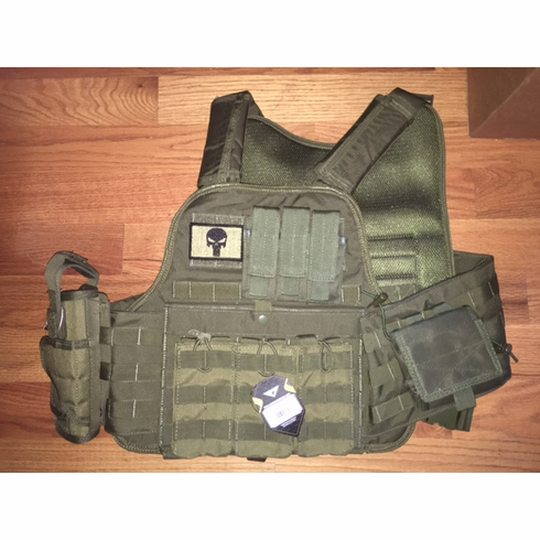 fox-tactical-od-premium-operator-plate-carrier -with-molle-and-2-10-x-12-certified-ar500-nij-compliant-plates-side-plates -3.png 0f41616de92