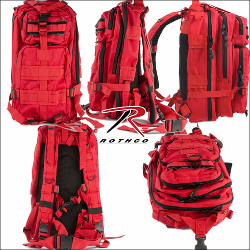 Rothco Red Bulletproof Backpack