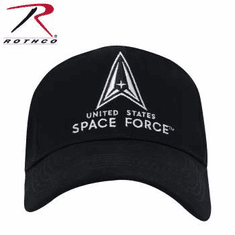 Rothco US Space Force Low Profile Cap - Black