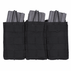 TAC (3) Mag AR Open Molle Pouch