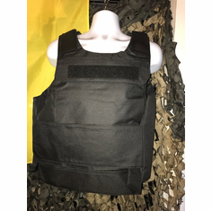 "Tactical Armor Concepts Covert Plate Carrier & (2) 10"" x 12"" AR500 Steel NIJ Certified Plates"