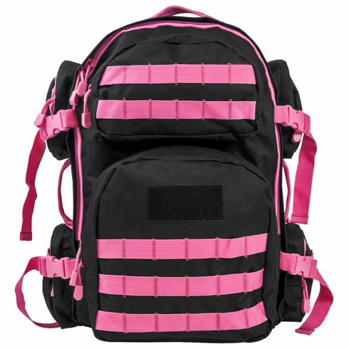 Tactical Armor Concepts Pink Bulletproof Backpack With VISM Level 3A Armor