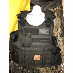 "Tactical Armor Concepts Tactical QR Plate Carrier & (2) 10"" x 12"" Certified Armor Plates, (2) 6"" x 6"" Side Plates"