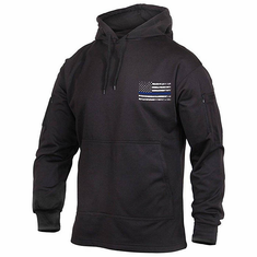 Tactical Armor Concepts Thin Blue Line Hoodie With Conceal Carry Pocket