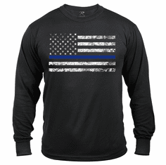 Tactical Armor Concepts Thin Blue Line Long Sleeve T Shirt